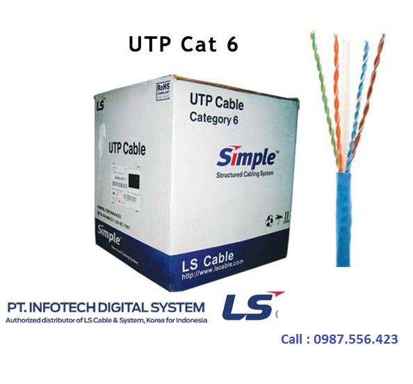 Cáp mạng LS cat6 vina cable