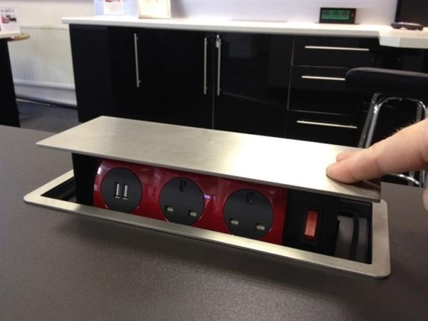 Ổ cắm điện sino âm sàn SPU-5S| Thiết bị âm sàn cao cấp sinoamigo