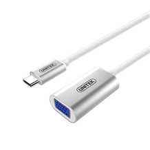 Cáp USB3.1 Type-C to VGA Converter Y6315 cao cấp