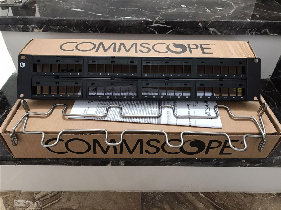 Patch Panel 48 Cổng AMP/COMMSCOPE CAT 5E.